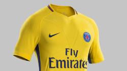 PSG: le maillot extérieur 2017-2018 est