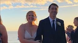Amy Schumer's Stunning Wedding Dress On