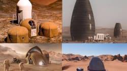 Les maisons de la NASA sur Mars pourraient ressembler à