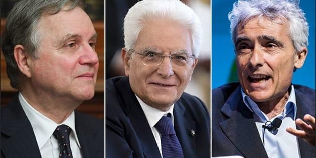 Mattarella difende i tecnici dal  potere che inebria