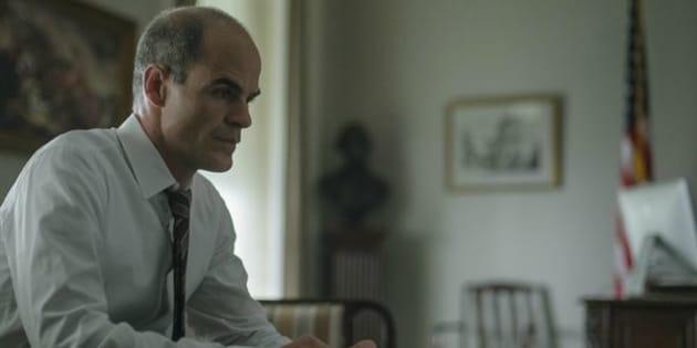 """Michael Kelly incarne Doug Stamper dans la célèbre série politique """"House of Cards""""."""