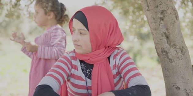 Kiffa, 20 ans, au camp de Sarada, Khiam Sud-Liban.