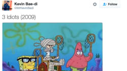 This Guy Imagined SpongeBob In Iconic Bollywood Movies And It Is Spot
