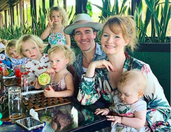 How James Van Der Beek enjoys low-cost family trips