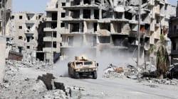 ISが占拠するラッカが陥落目前か 戦闘員100人が投降