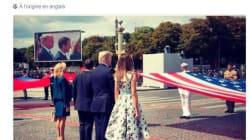 Melania Trump a-t-elle vraiment voulu remercier