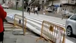 El inaudito paso de cebra que ha hecho famoso a este municipio