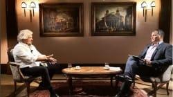 Grillo vede l'ex presidente socialista dell'Ecuador Rafael Correa. Lo aveva elogiato per le battaglie contro la Troika e l'Fm...