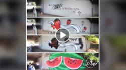 A Verona c'è un street artist che combatte il fascismo con i