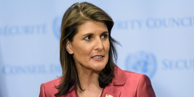 Trump confirme la démission de Nikki Haley