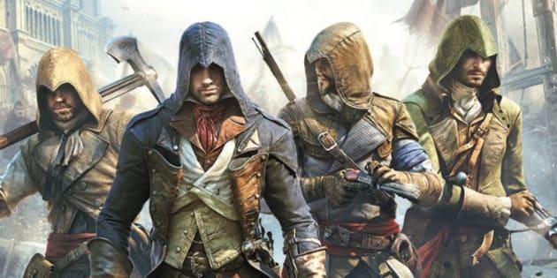 Une image d'Assassin's Creed Unity, produit par le studio Ubisoft à Montréal.