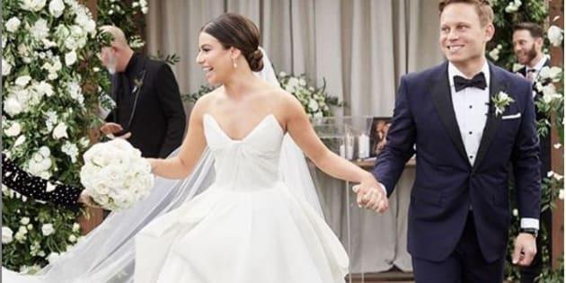 Lea Michele et Zandy Reich se sont mariés ce samedi 9 mars, en Caroline du Nord.