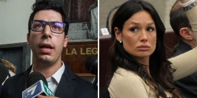"""Nicole Minetti e Bossi Jr condannati per le """"spese pazze"""" al Pirellone"""