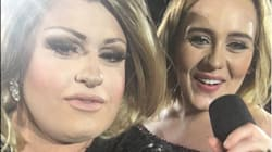 An Adele Impersonator Nearly Upstaged Adele At Her Own