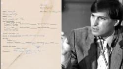 Il CV disordinato e pieno di errori di Steve Jobs, messo all'asta, dimostra che nella vita tutto è