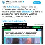 El 'corte' del jefe de informativos de LaSexta al PP tras esta crítica a 'LaSexta