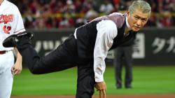 吉川晃司の始球式が最高すぎるから、みんな見て