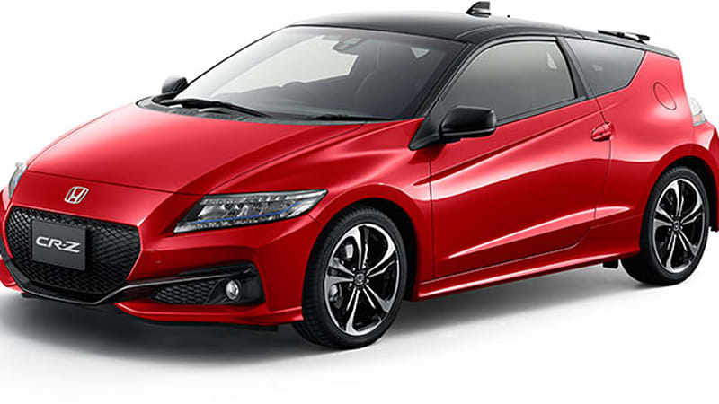 honda cr z refresh coming this fall autoblog. Black Bedroom Furniture Sets. Home Design Ideas