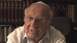 Le grand rabbin Josy Eisenberg, qui présentait l'émission dominicale sur le judaïsme, est