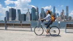 Des femmes qui voyagent seules à vélo? Et pourquoi pas des femmes qui ont confiance en elles, pendant qu'on y