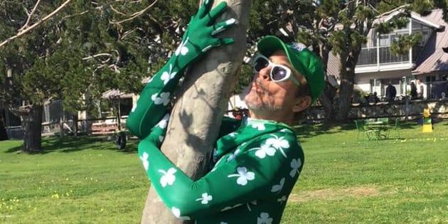 Saint-Patrick: comme Robert Downey Jr., les people s'amusent en vert.