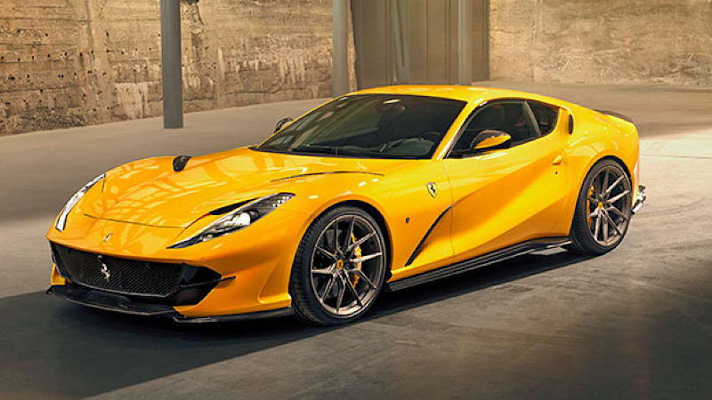 4b23ccdaade9da Novitec shows off its version of the Ferrari 812 Superfast ...