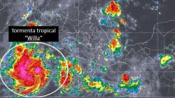 Depresión tropical 24-E se fortalece a tormenta tropical
