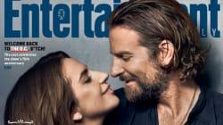 Lady Gaga et Bradley Cooper très complices en une d'Entertainment