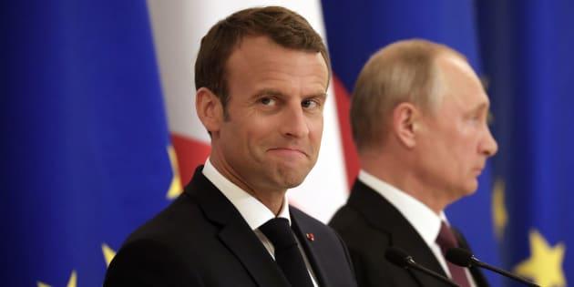 Emmanuel Macron veut ancrer la Russie de Poutine en Europe