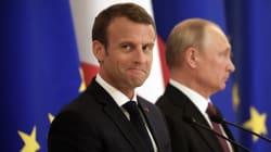 Macron ira soutenir l'équipe de France en Russie