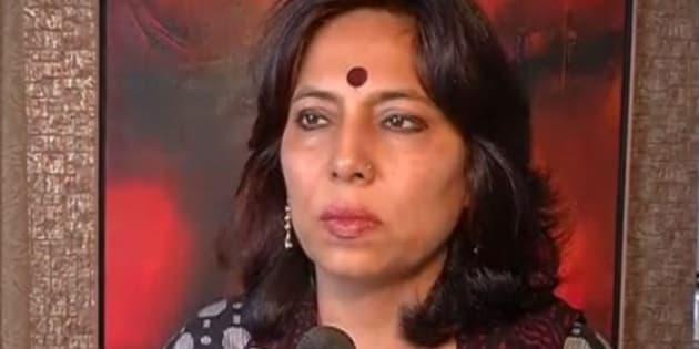 File photo of former Delhi Commission for Women chief Barkha Shukla.