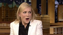 Cate Blanchett Pokes Fun At Trump In Jimmy Fallon