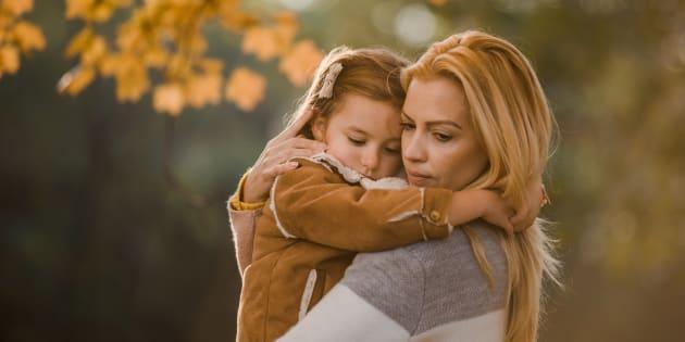 Je n'imaginais pas que la première rentrée de ma fille serait aussi violente pour moi.