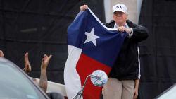 En déplacement au Texas, Donald Trump n'a pas déçu ses
