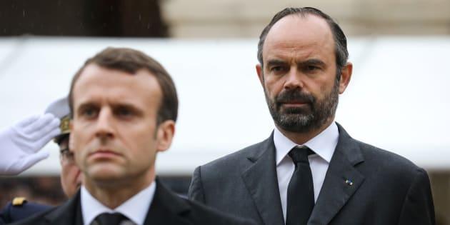 """""""On n'a pas fini, le travail est immense, ça j'en ai parfaitement conscience. Je ne me sens pas du tout dans l'état d'esprit de célébrer un anniversaire"""", affirme le premier ministre Edouard Philippe."""