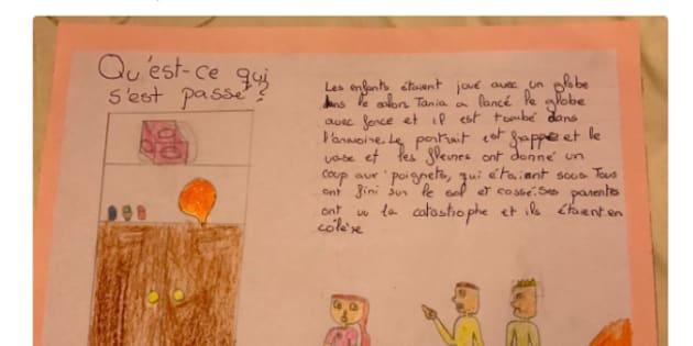 Una niña de Málaga da toda una lección de diversidad en clase de francés