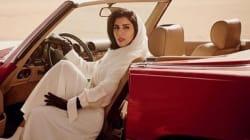 Cette couverture de Vogue avec une princesse saoudienne au volant crée la