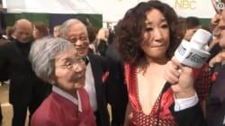 El gran gesto de la mamá de Sandra Oh que alegró a los