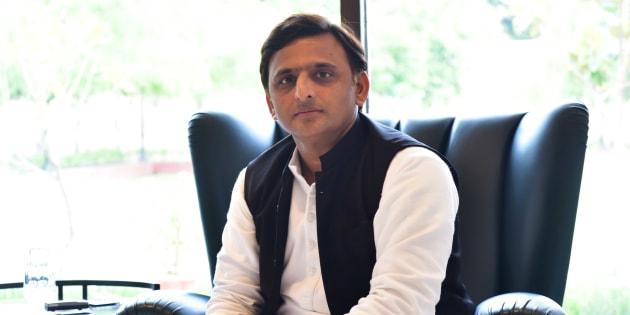 Chief Minister of Uttar Pradesh Akhilesh Yadav.