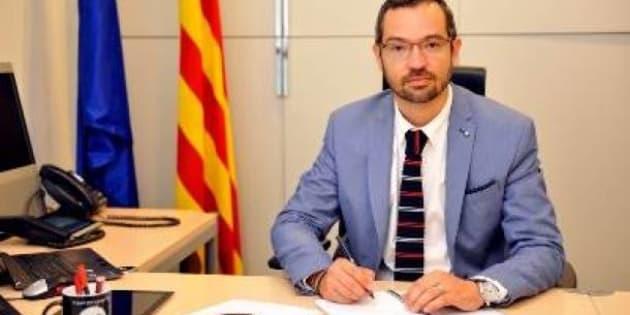 Frederic Adan, en una foto de la web de su ya exdepartamento.