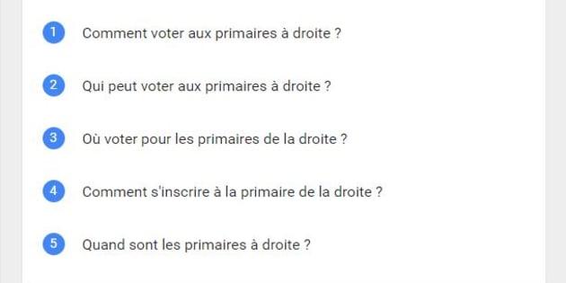 """""""Comment voter aux primaires à droite?"""" La réponse à la question Google que vous vous posez"""