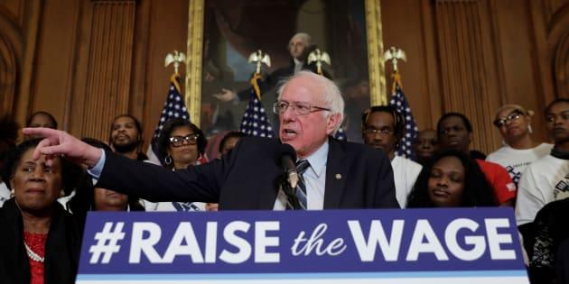 Le sénateur américain Bernie Sanders a officialisé ce mardi 19 février sa candidature à la présidentielle de 2020.