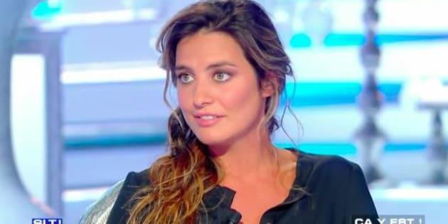Laëtitia Milot émue en évoquant sa grossesse sur le plateau de Salut les Terriens