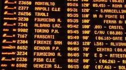 Neve a Roma: treni in ritardo.