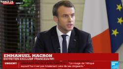 Macron répond à ceux qui n'ont pas aimé sa blague au président
