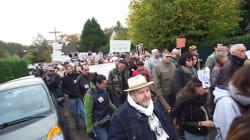 Des centaines de manifestants anti-chasse, une semaine après l'abattage d'un cerf dans un jardin