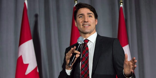 Prime Minister Justin Trudeau speaks during a Liberal fundraising event at St. Lawrence College in Kingston, Ont. on Dec.19, 2018.