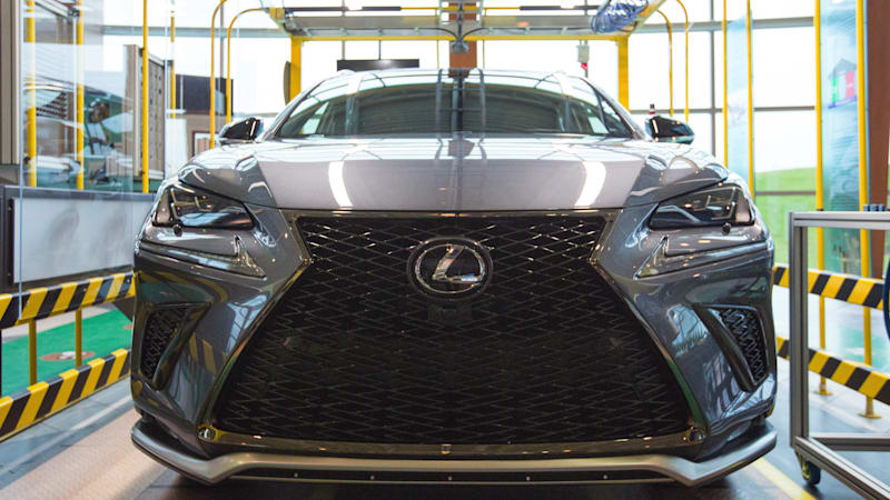Toyota To Build Lexus NX In Ontario, A Bright Spot For