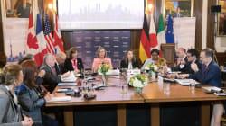Réunion du G7 sur fond de confrontation avec Moscou, Téhéran et