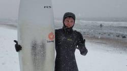 #coldwatersurf ou quand le froid ne les empêche pas d'aller